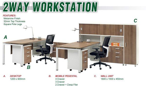 2WAY WORKSTATION