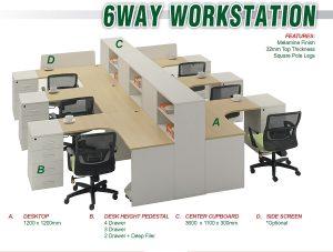6WAY WORKSTATION
